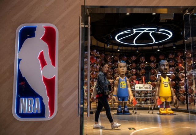 NBA in China