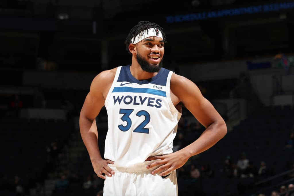 Karl Anthony Towns It S Fine Keep Sleeping On Us
