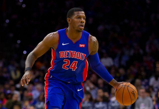 Joe Johnson of the Detroit Pistons