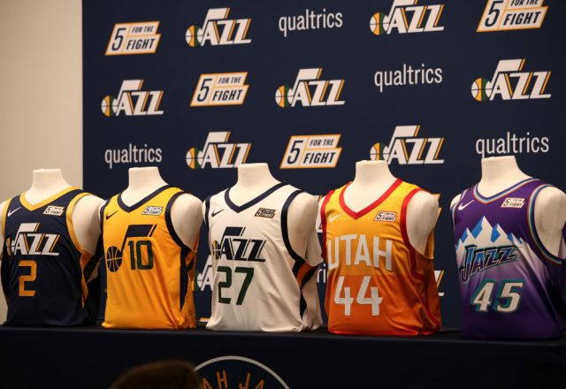 Utah Jazz jerseys