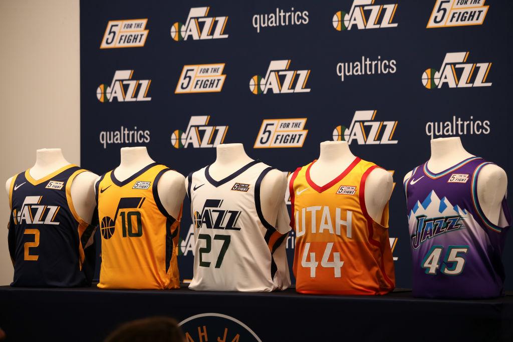 Utah Jazz jerseys