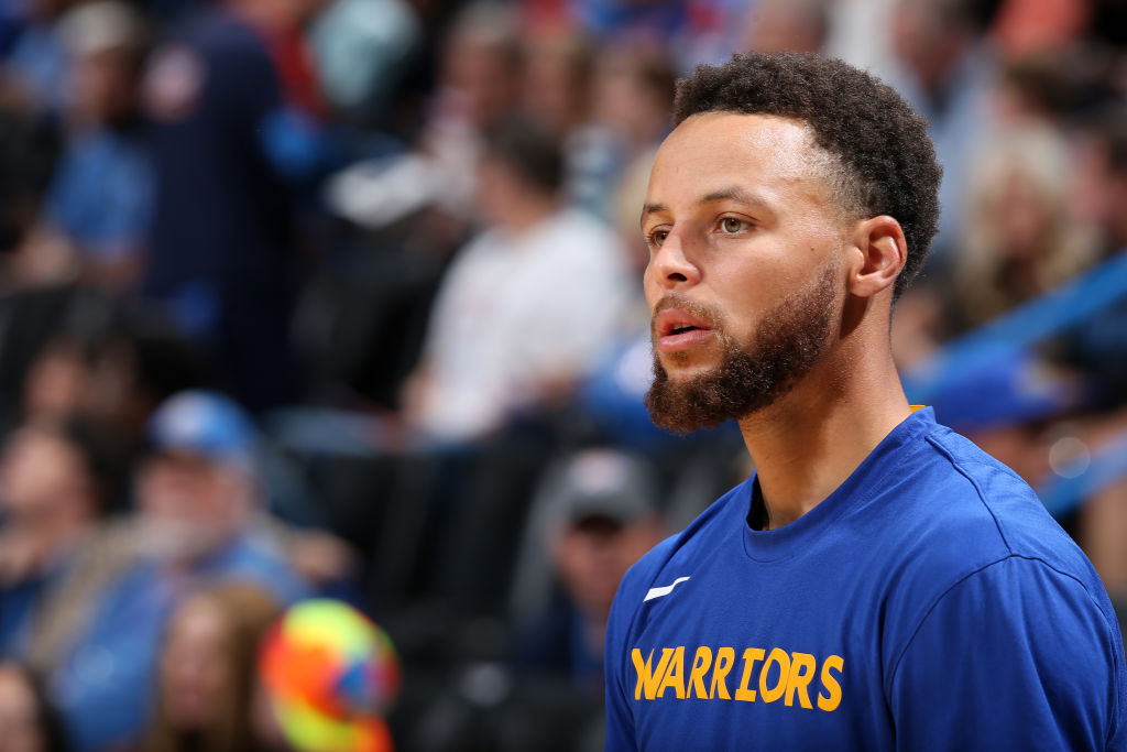 Stephen Curry of the Golden State Warriors