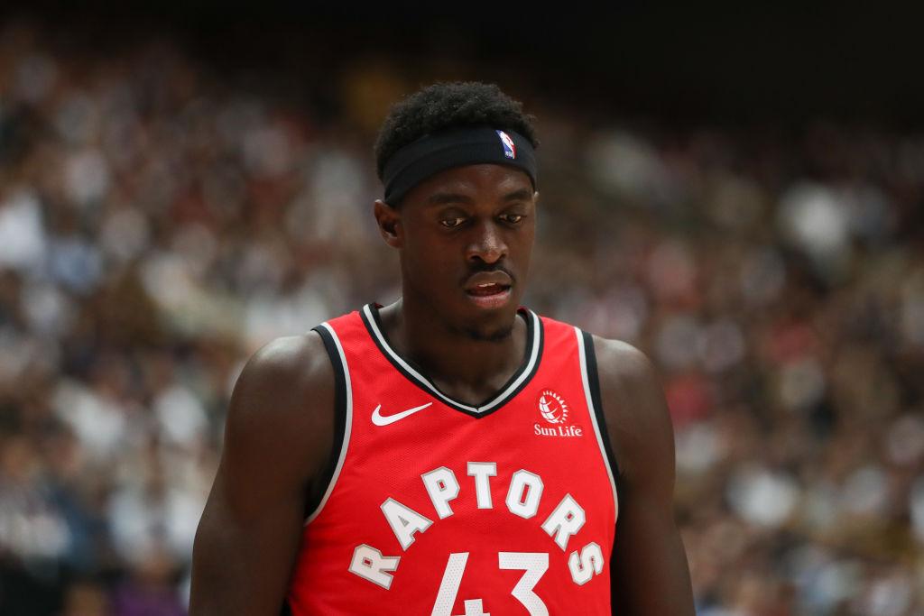Pascal Siakam of the Toronto Raptors