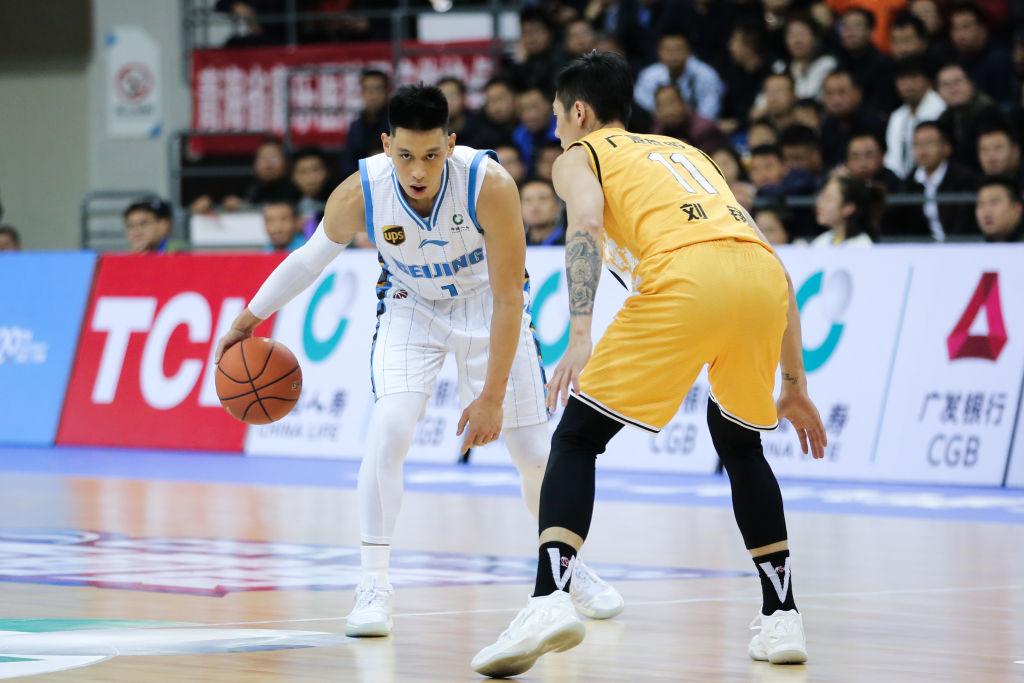 Jeremy Lin of the Beijing Ducks