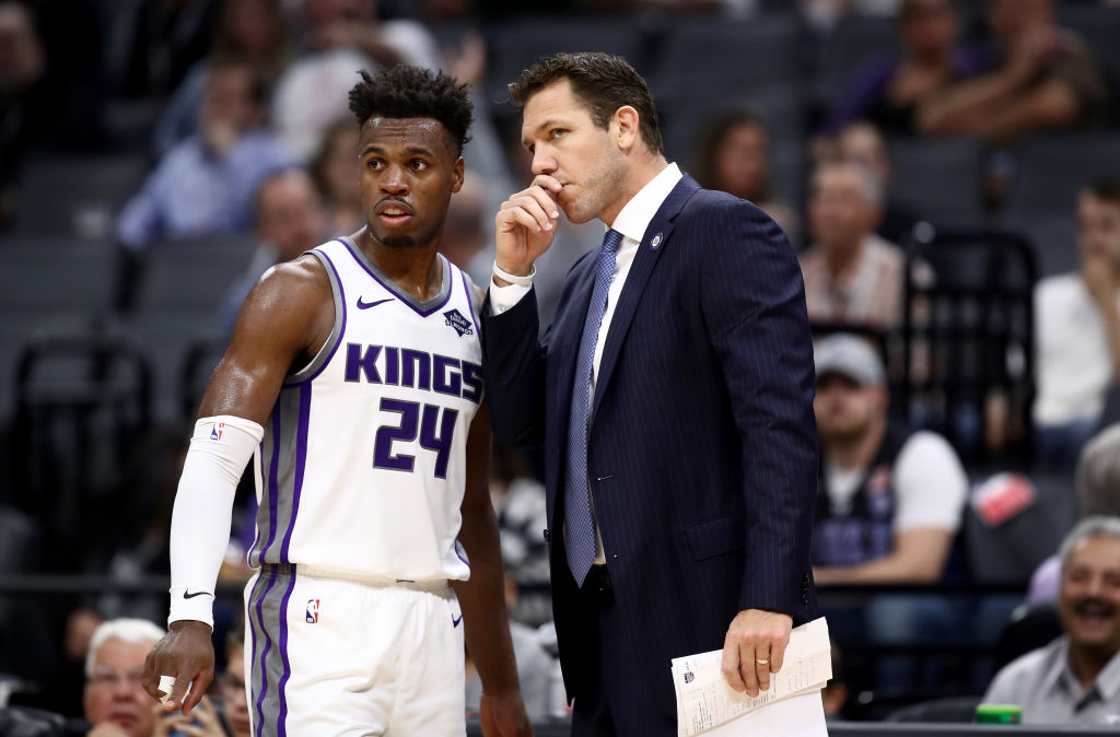 Buddy Hield of the Sacramento Kings