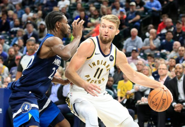 Domantas Sabonis of the Indiana Pacers