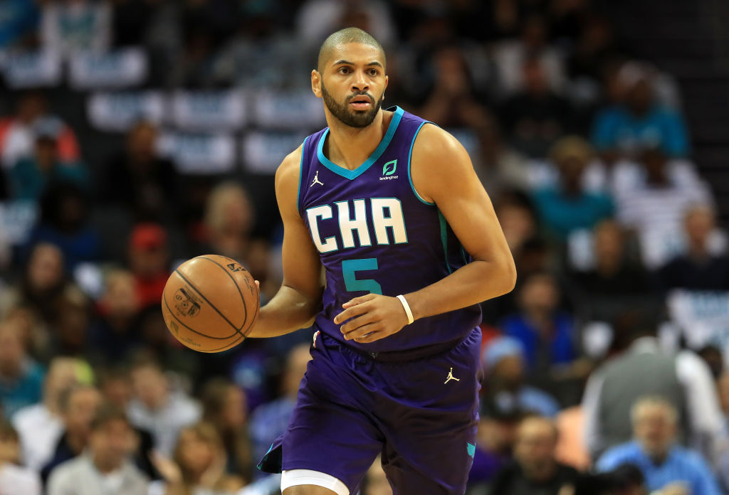 Nicolas Batum of the Charlotte Hornets