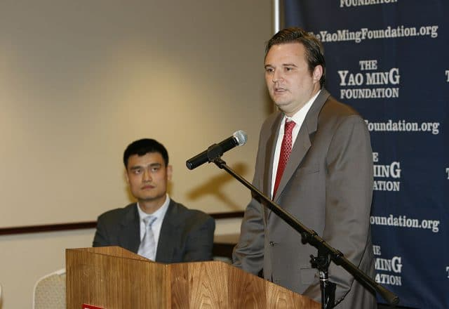 Daryl Morey of the Houston Rockets
