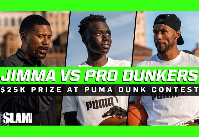 jimma dunk contest puma