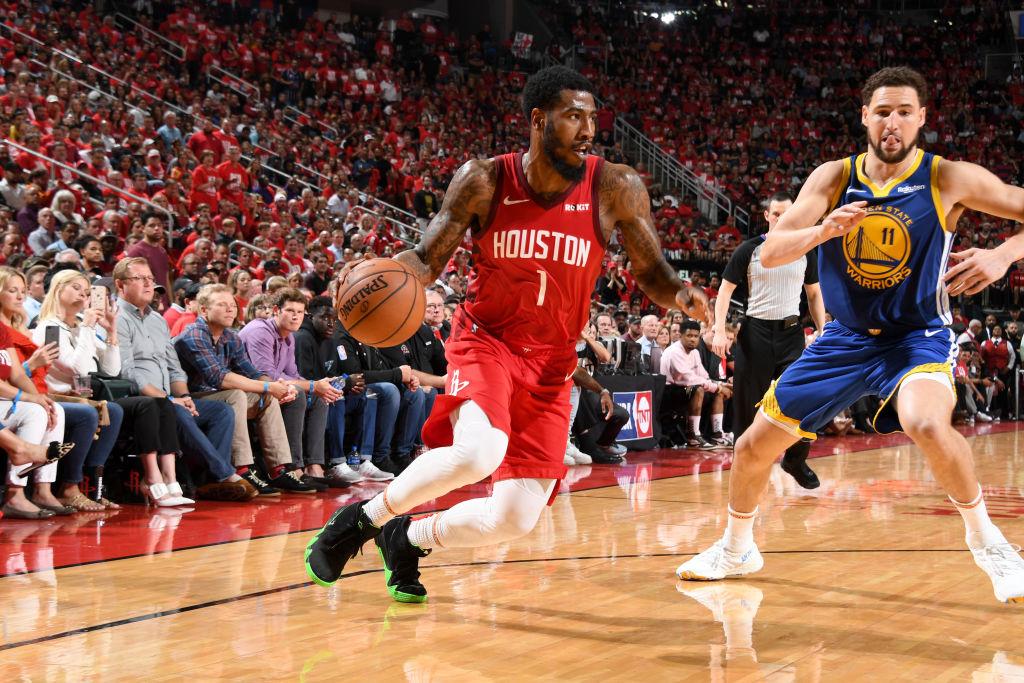 Iman Shumpert of the Houston Rockets