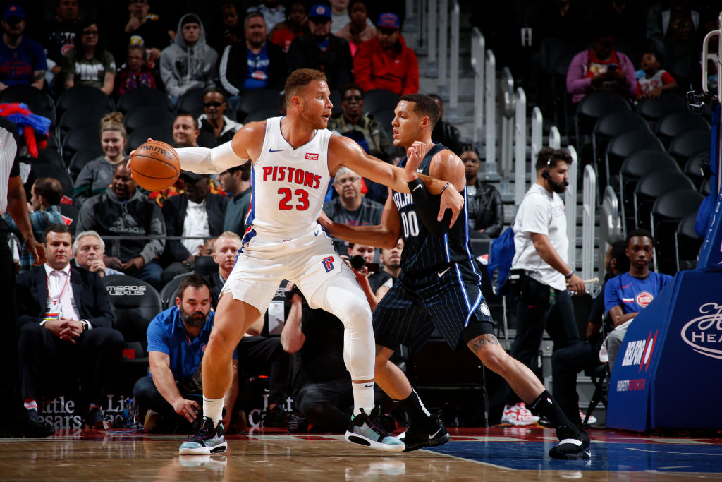 Blake Griffin of the Detroit Pistons