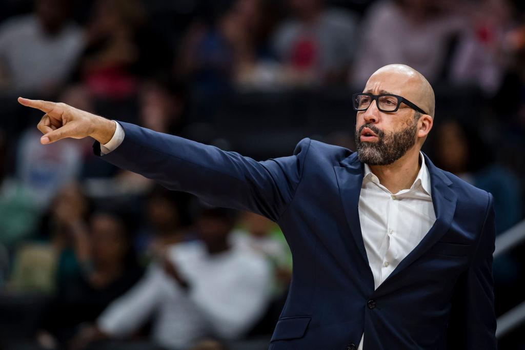 David Fizdale of the New York Knicks