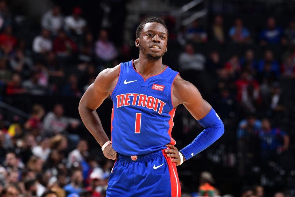 Reggie Jackson of the Detroit Pistons