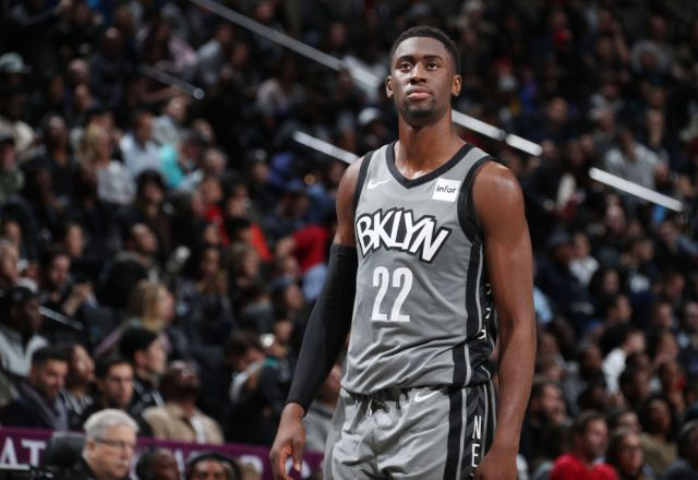 Caris LeVert of the Brooklyn Nets