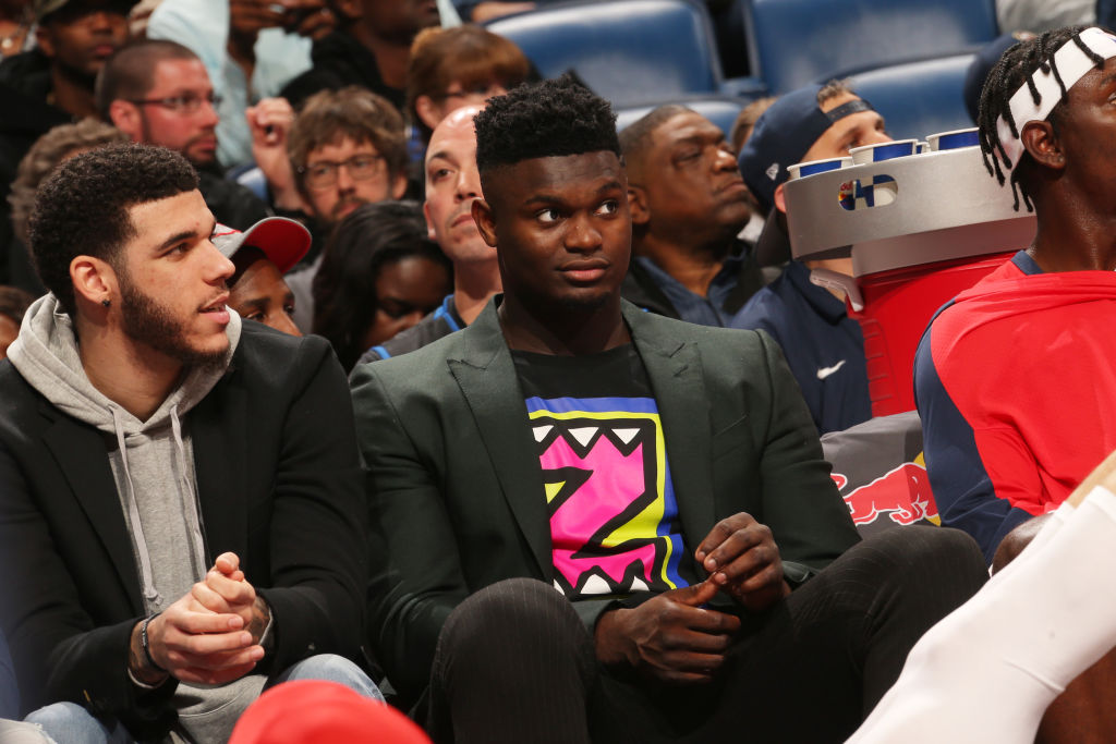 Zion Williamson of the New Orleans Pelicans