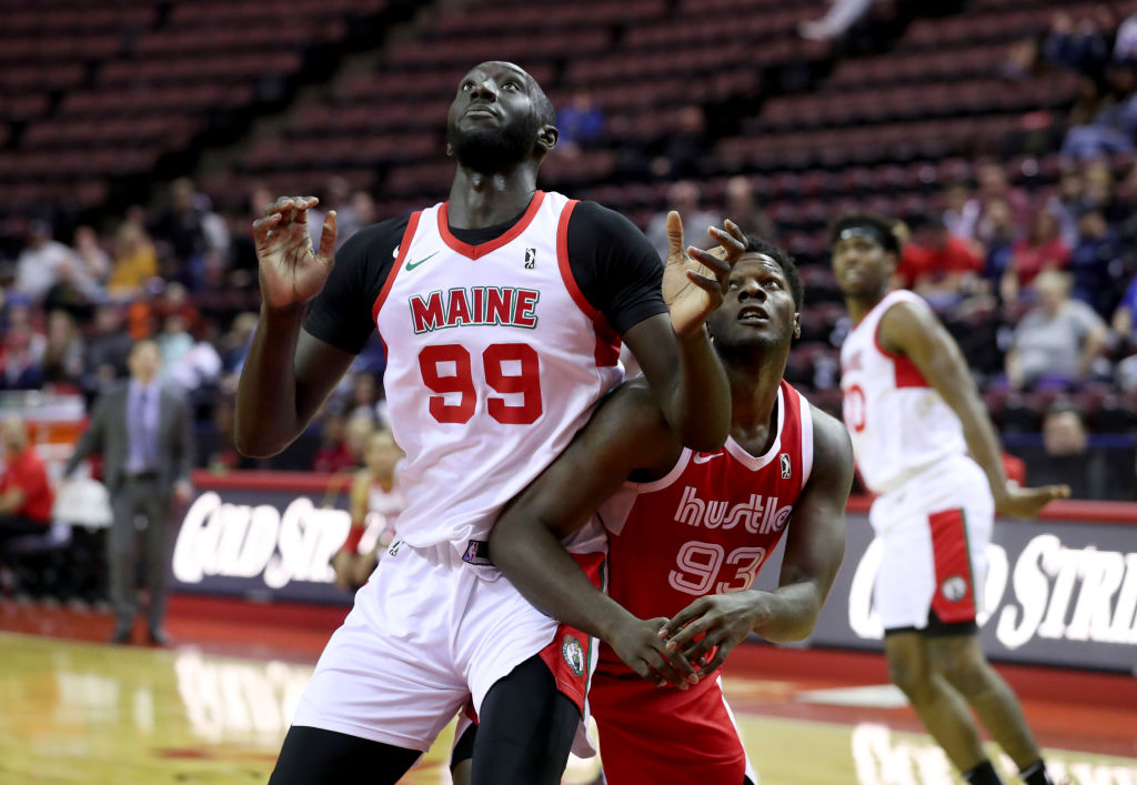 Tacko Fall of the Main Red Claws