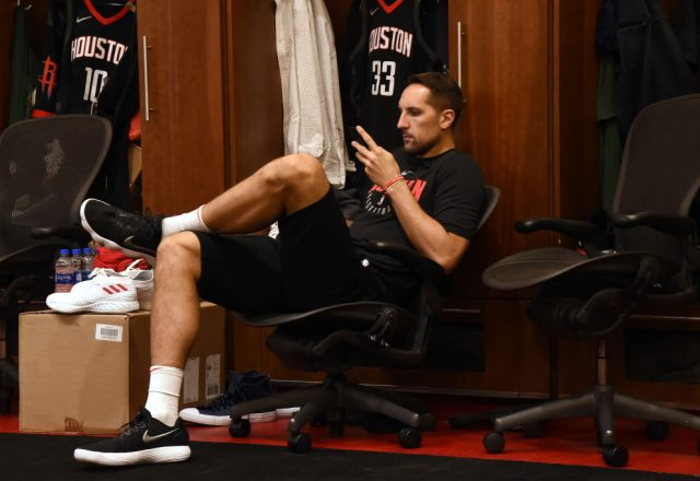 Ryan Anderson of the Houston Rockets