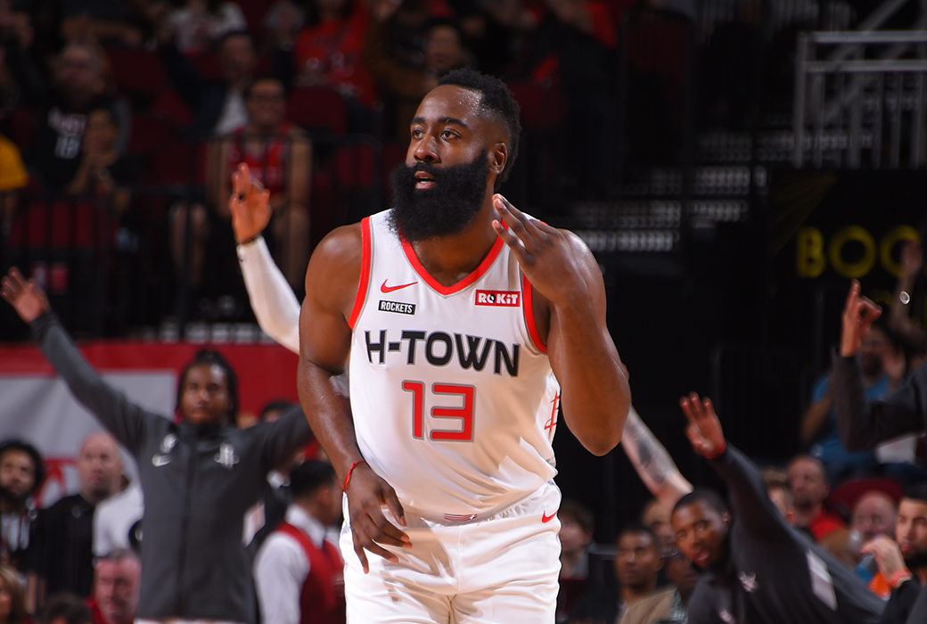 james harden post up 60 points