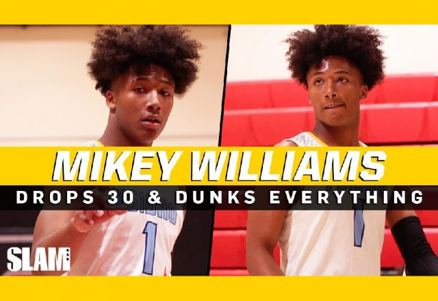 mikey williams highlights