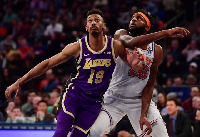 Johnathan Williams of the Los Angeles Lakers