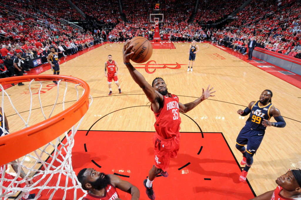 Kenneth Faried of the Houston Rockets