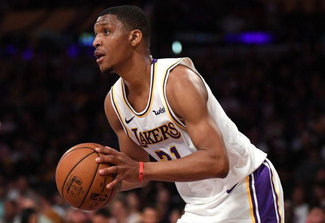 Zach Norvell Jr. of the Los Angeles Lakers
