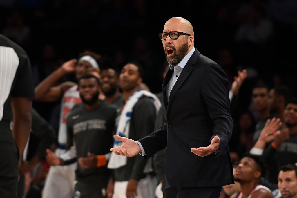 David Fizdale of the New York Knicks