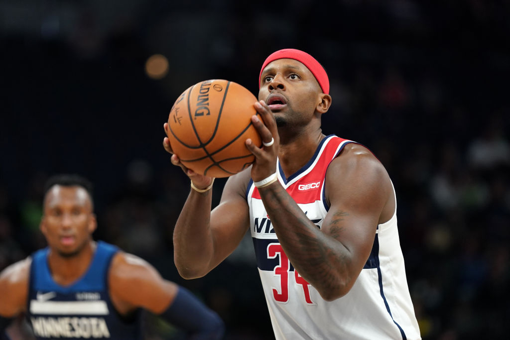 C.J. Miles of the Washington Wizards