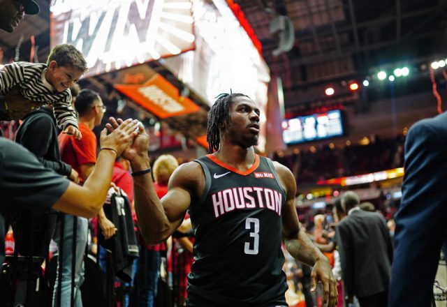 Chris Clemons of the Houston Rockets