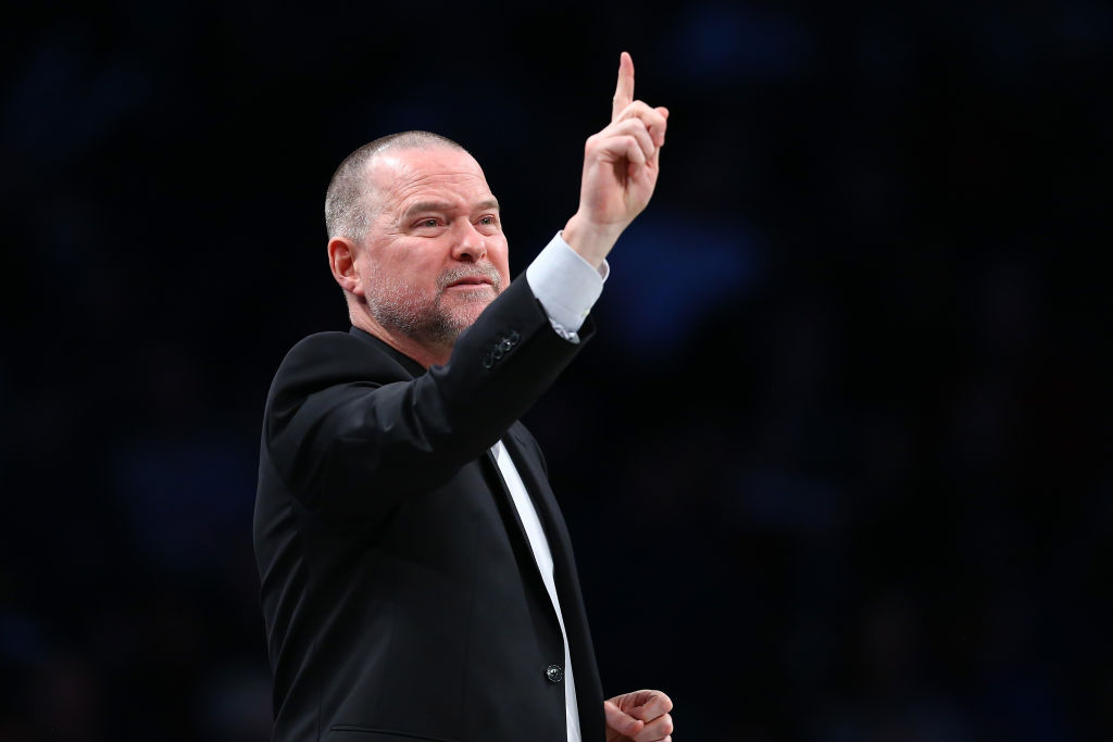 Michael Malone of the Denver Nuggets