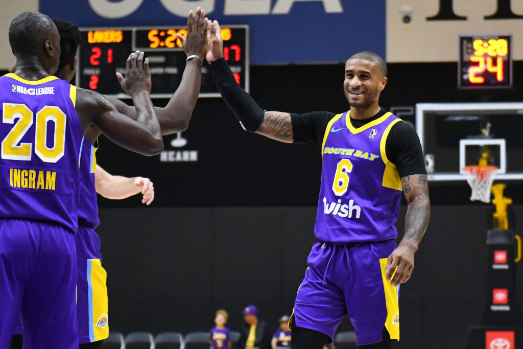Gary Payton II of the South Bay Lakers