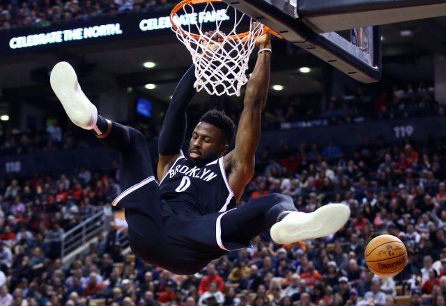 David Nwaba of the Brooklyn Nets