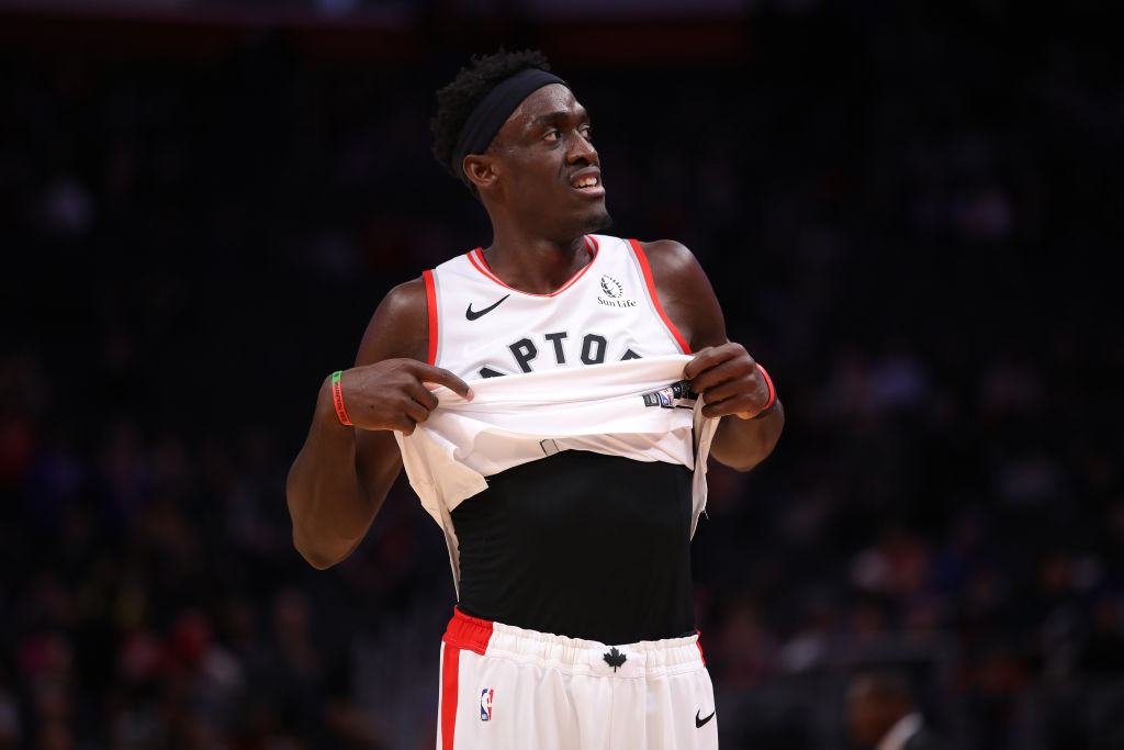 Pascal Siakam of the Toronto Raptors