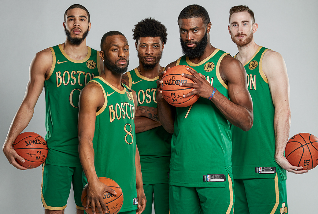 Together The Boston Celtics Cover Slam 226