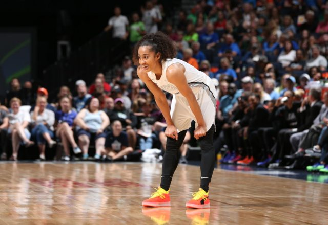 Skylar Diggins-Smith of the Dallas Wings