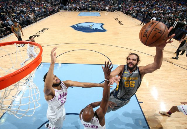 Joakim Noah of the Memphis Grizzlies