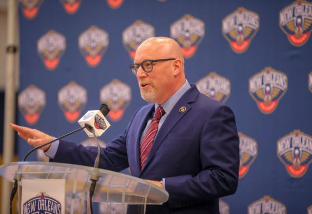 David Griffin of the New Orleans Pelicans