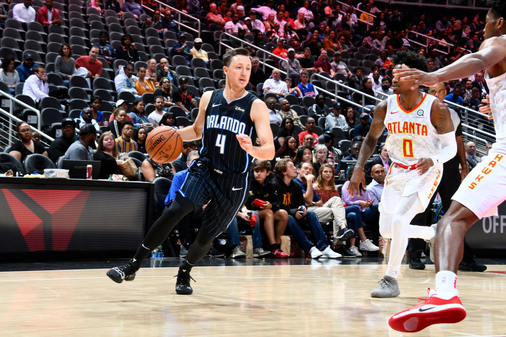Josh Magette of the Orlando Magic