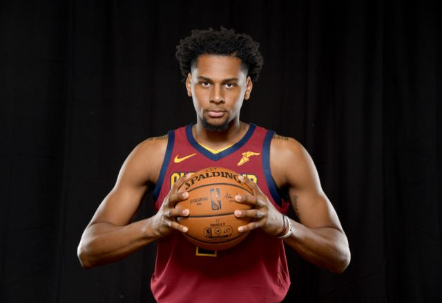 Marques Bolden of the Cleveland Cavaliers