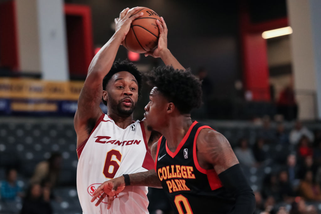 Levi Randolph of the Canton Charge