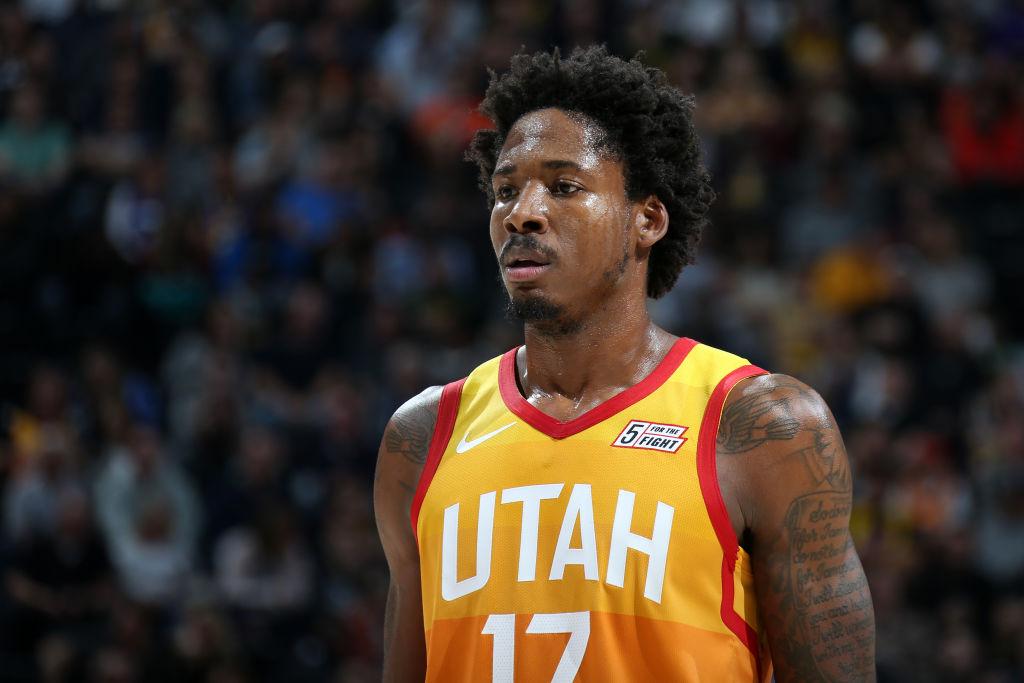 Ed Davis of the Utah Jazz