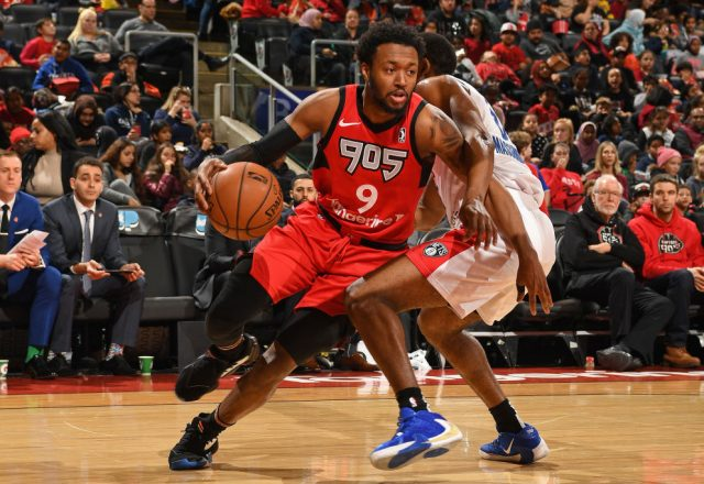 Shamorie Ponds of the Raptors 905