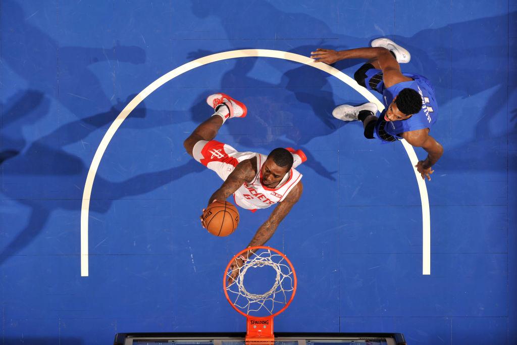 Gary Clark of the Houston Rockets