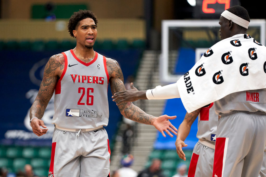 Ray Spalding of the Rio Grande Valley Vipers