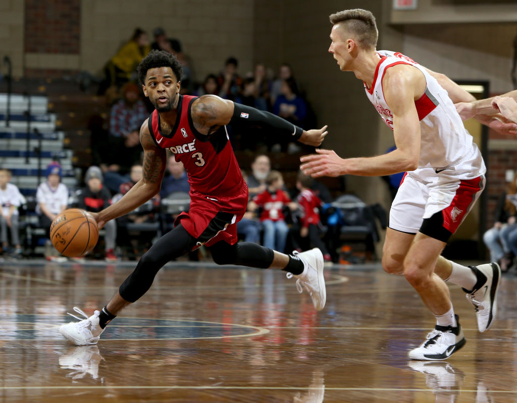 Daryl Macon of the Sioux Falls Skyforce