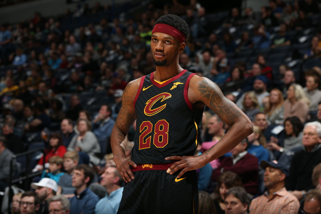 Alfonzo McKinnie of the Cleveland Cavaliers