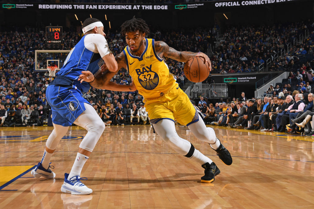 Marquese Chriss of the Golden State Warriors