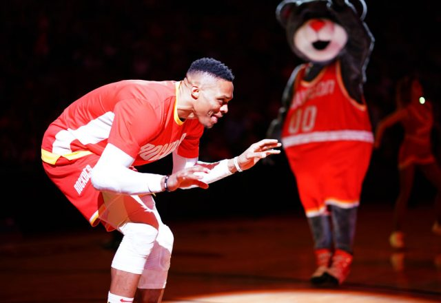 Russell Westbrook of the Houston Rockets