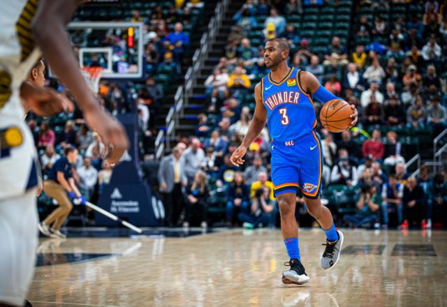Chris Paul of the Oklahoma City Thunder
