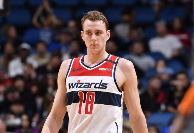 Anzejs Pasecniks of the Washington Wizards